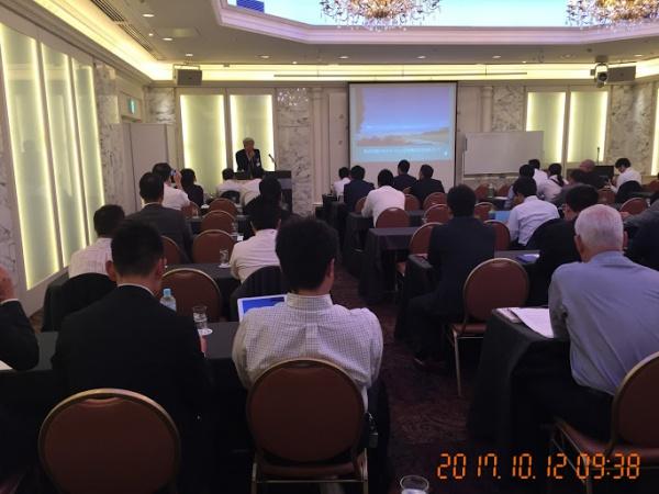 全国ご当地エネルギー協会 佐藤 彌右衛門代表理事による、ご当地エネルギーの動向に関する講演