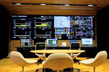 スマートシティのコントロールセンター
