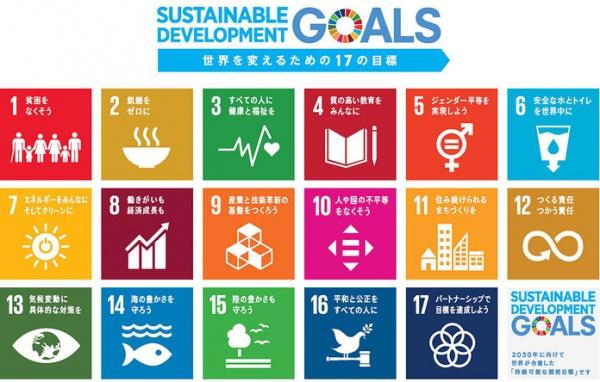 SDGs(持続可能な開発目標)に取り組んでいます