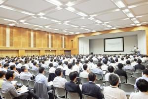 経産省資源エネルギー庁主催による改正FIT法説明会の模様